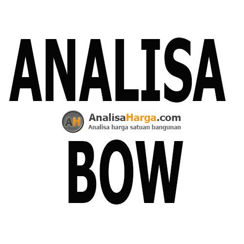 analisa BOW