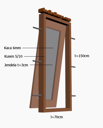 jendela kayu