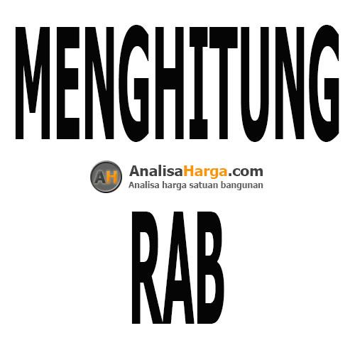 menghitung RAB
