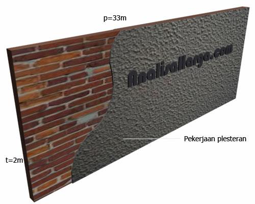 plesteran dinding