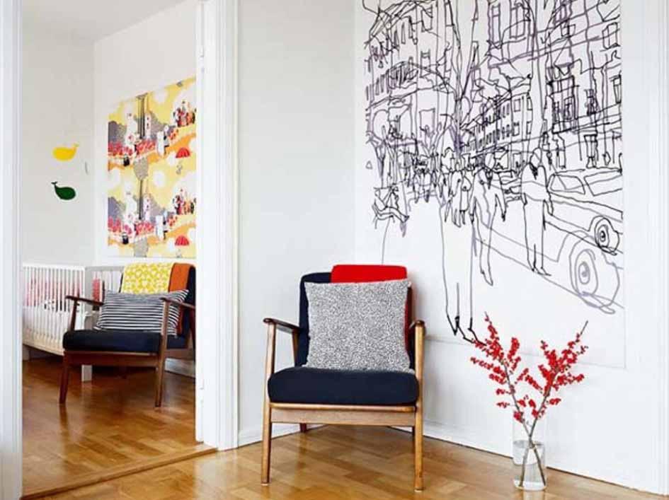 Aneka Bahan Wall Paper Dinding yang Menarik