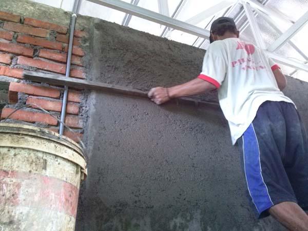 Cara Menghitung Proses Pekerjaan Plesteran Dinding Yang Baik