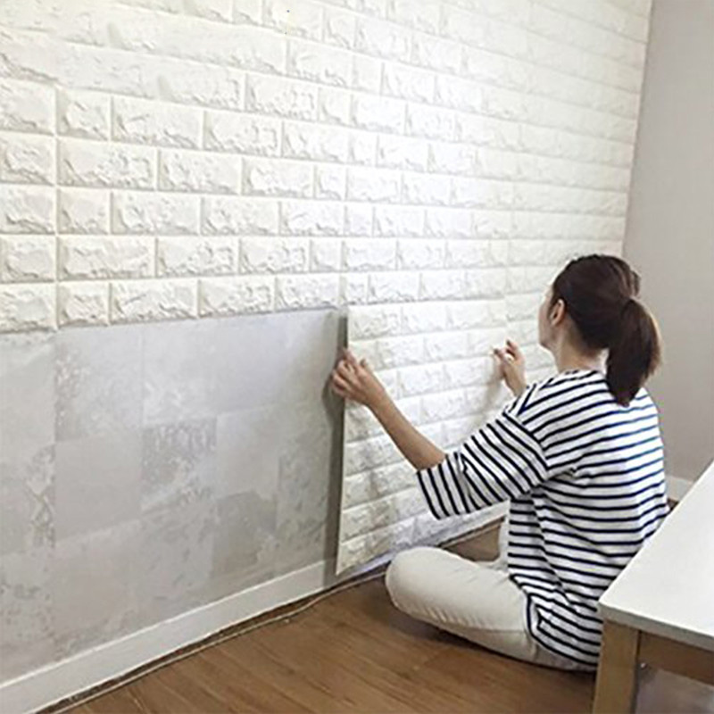 Cara Memasang WallPaper Dinding 3D dengan Mudah