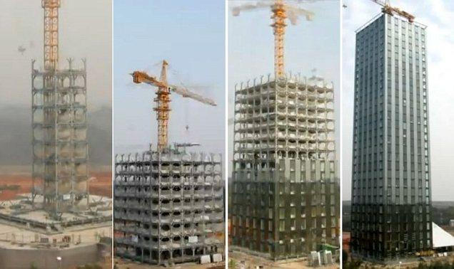 pembangunan-gedung-tercepat