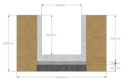 saluran u ditc beton precast